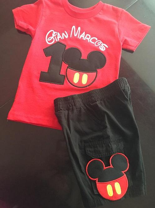 Trajesito de Mickey Mouse