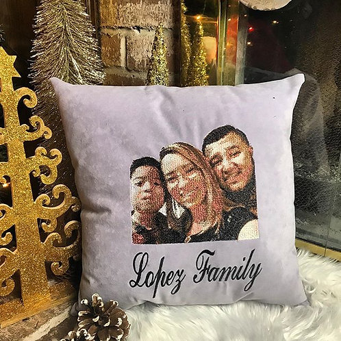 Personalized Embroidered Pillow