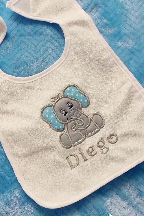 Set de Baby Boy with Elephant