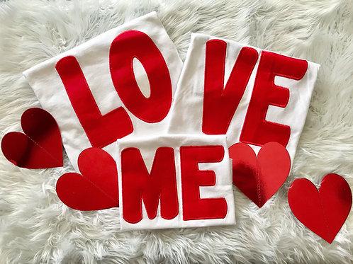 LOVE ME Set of 4