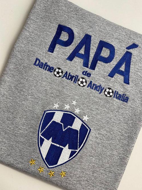 Papa de Playera con su Equipo Favorito