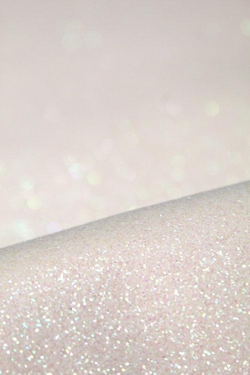 White Fine Glitter Sheets