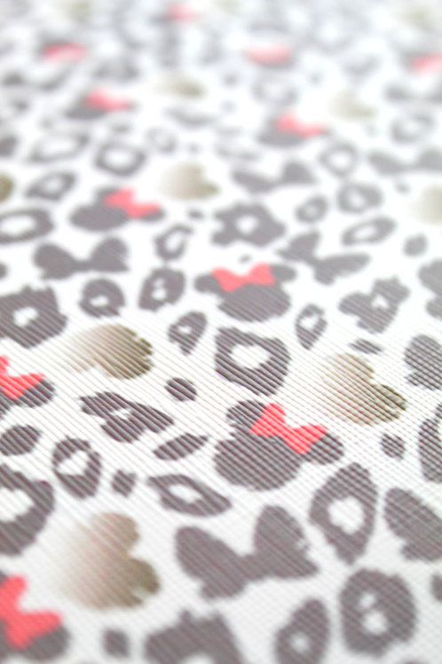 Minnie Animal Print Faux Leather Sheets