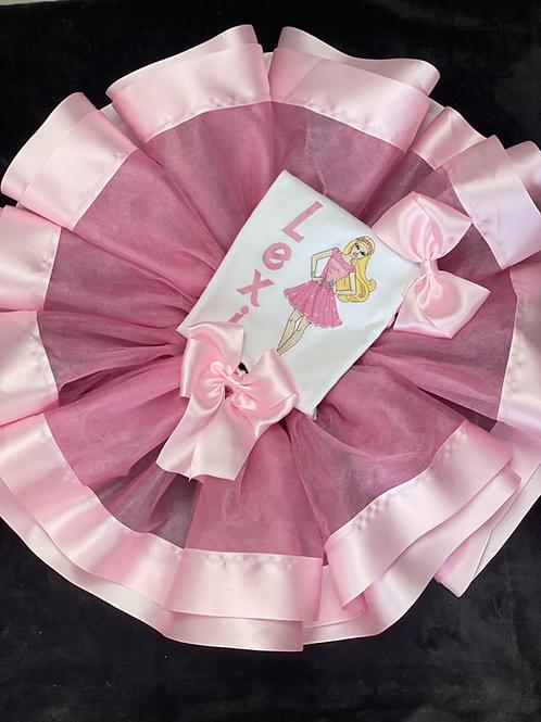 Tutu de Barbie Pink Dress
