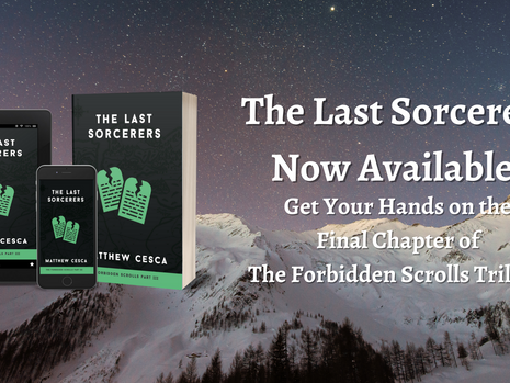 The Last Sorcerers Now Available!