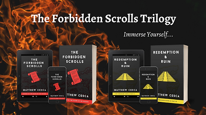 The Forbidden Scrolls Trilogy Web Banner