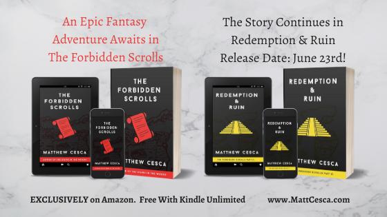 The Forbidden Scrolls Trilogy Books I & II