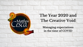 The Year 2020 and The Creative Void