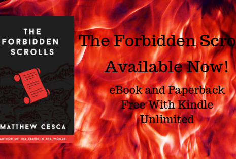 """""""The Forbidden Scrolls"""" Available Now!"""
