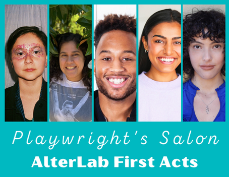 Join us for our First Acts Playwright's Salon!