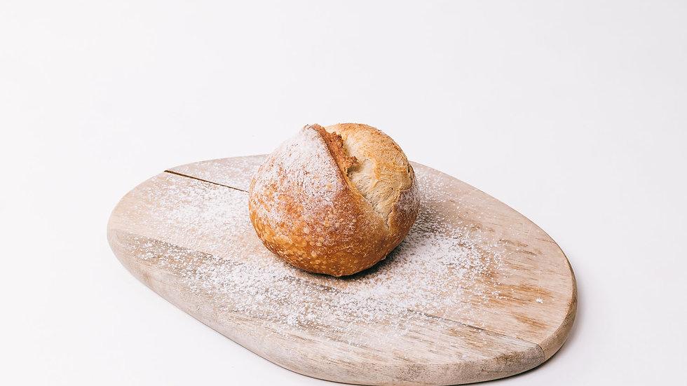 Ballon de pain mi-blanc