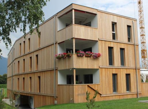 Vouvry - Le bois laissé au naturel