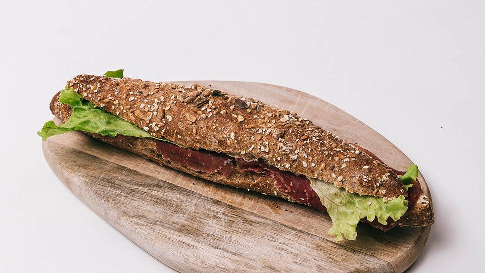Sandwich viande séchée