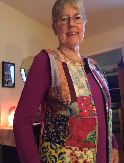 Turned Jacket into Vest - Julie