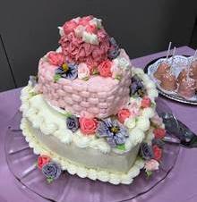 Cake for baby shower - Laura K