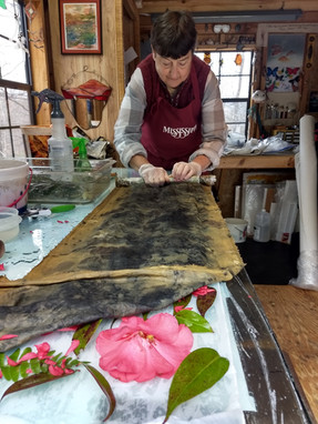Learning Eco Dyeing