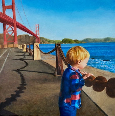Owen and Golden Gate Bridge Toffaleth Oi