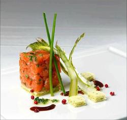 Tartare de saumon Delicatessen