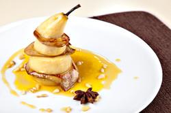 Entrée Foie gras poêlé Delicatessen