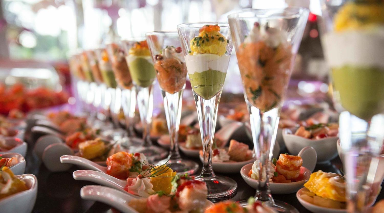 Cocktail verrines Delicatessen