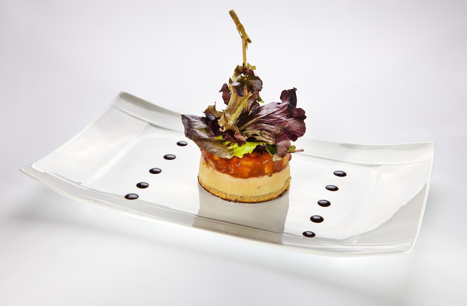 Foie gras terrine Delicatessen
