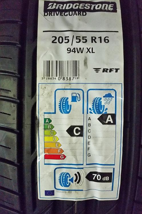 Bridgestone DriveGuard RFT 205/55 R16 94W XL , runflat
