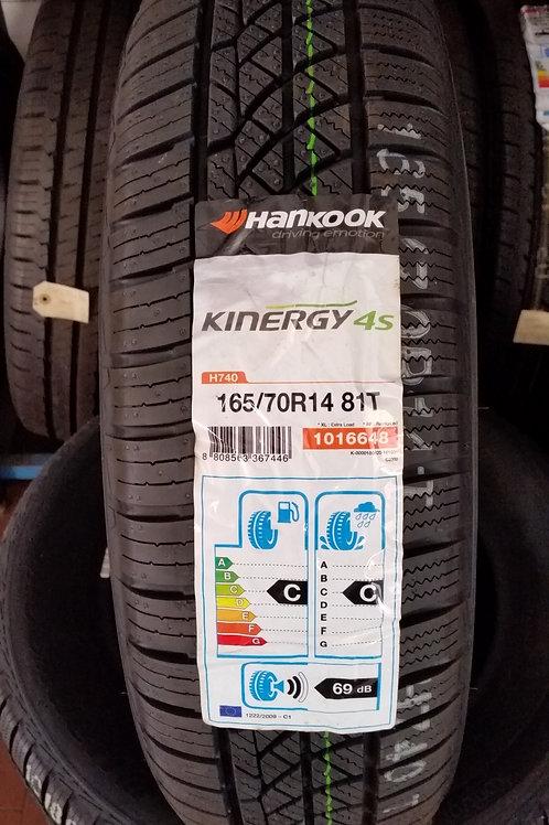 165/70 r14 81T HANKOOK KINERGY 4S