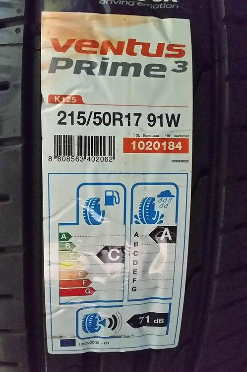 215/50 R17 91W HANKOOK PRIME 3 K125