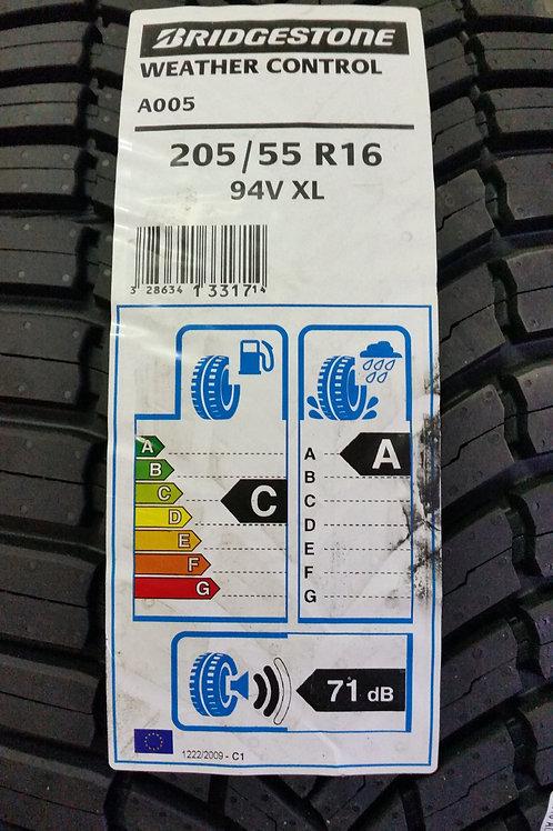 Bridgestone Weather Control A005 205/55 R16 94V XL