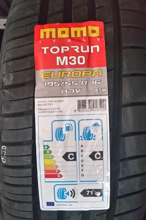 195/55 R16 87V MOMO TOPRUN M30
