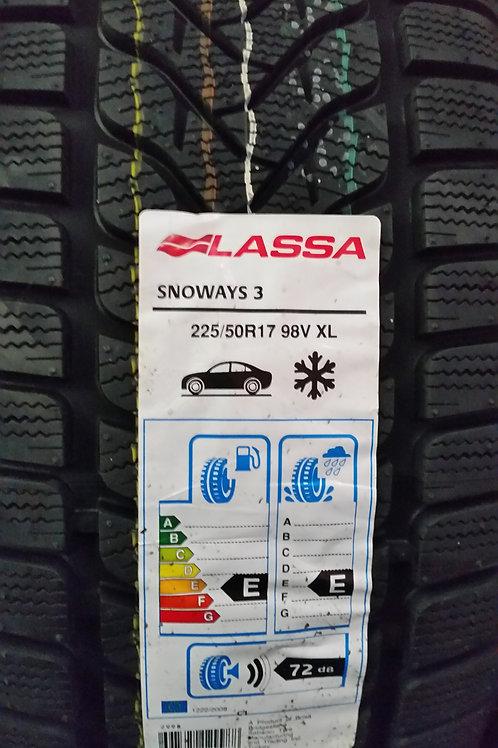 225/50 R17 98V XL LASSA SNOWAYS 3