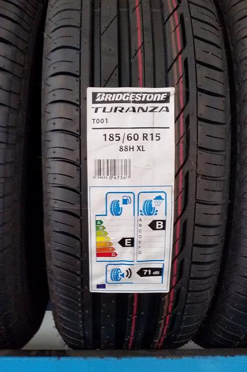 185/60 r15 88H XL BRIDGESTONE TURANZA T001