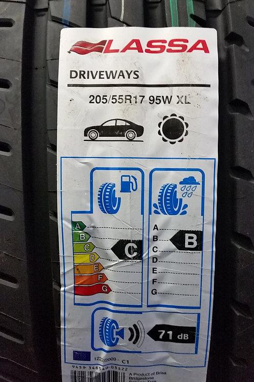 205/55 R17 95W XL LASSA DRIVEWAYS