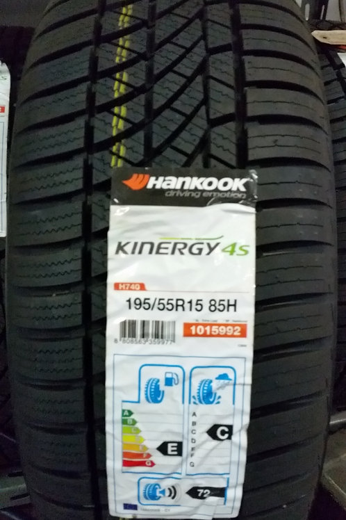 195/55 R15 85H HANKOOK KINERGY 4S