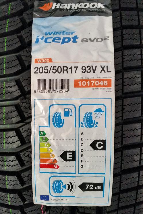 205/50 R17 93V XL HANKOOK I'CEPT EVO2 W320