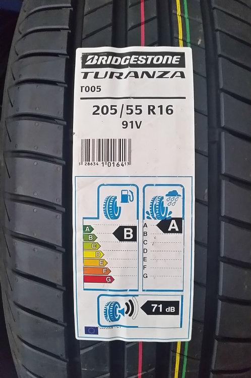 205/55 R16 91V BRIDGESTONE TURANZA T005