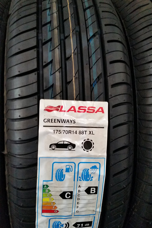 175/70 R14 88T XL LASSA GREENWAYS