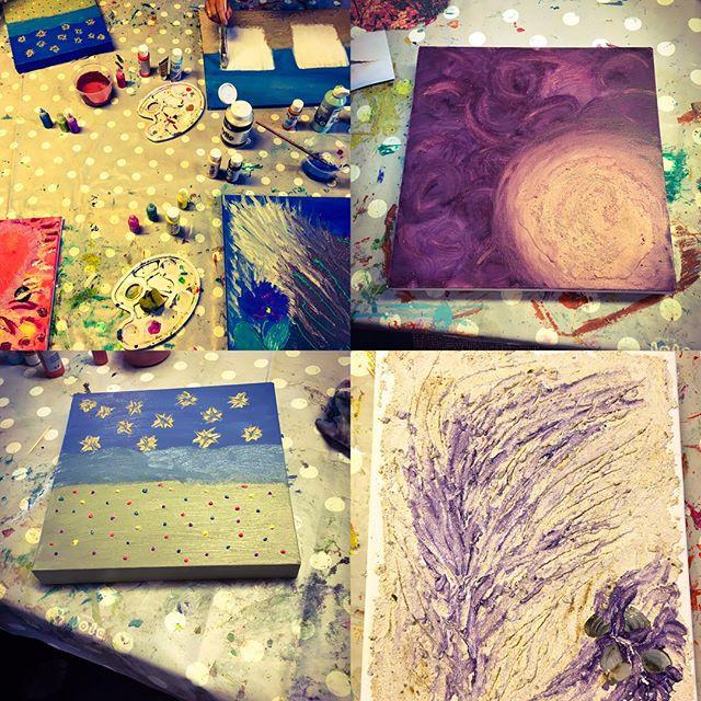Workshop intuïtief schilderen  (1)