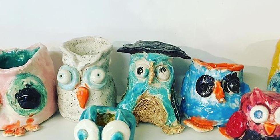 Kunstworkshop keramiek kinderen