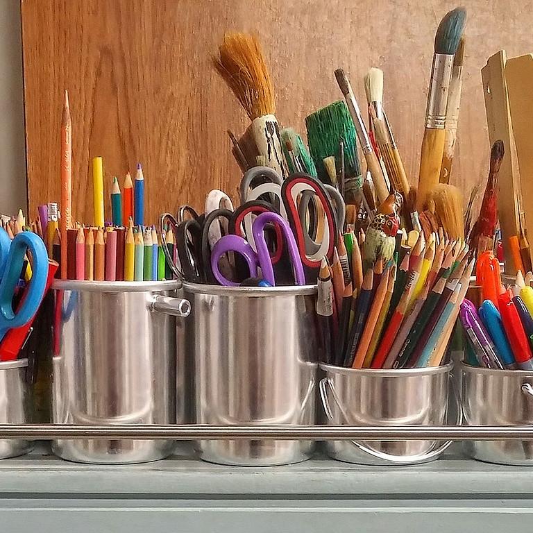 Kunstatelier voor kinderen.