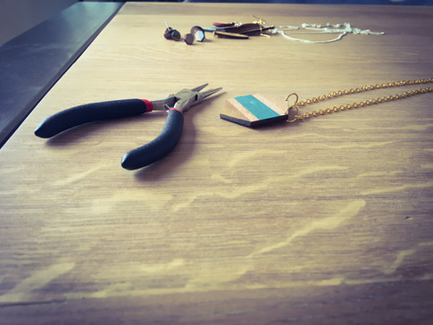 juwelen in hout