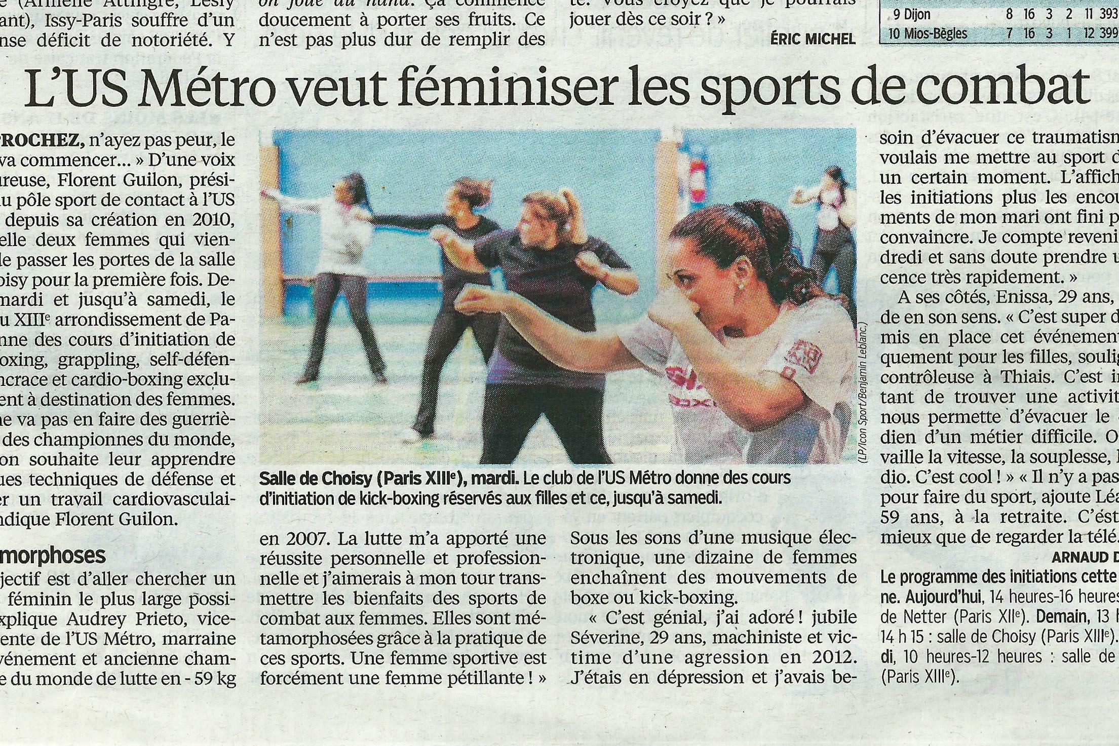 Article, Le Parisien