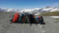 Pārgājiens Alpos apkārt Monblāna