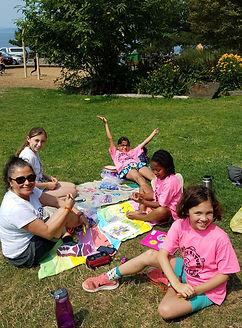 Seattle Bus Camp Girls
