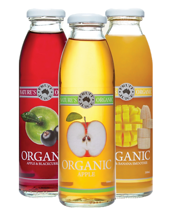 Nature's Organic Fruit Juices
