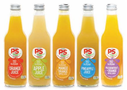 Parkers Organic 100% Juice