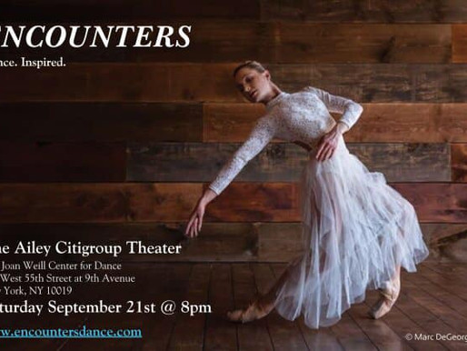 MCS + ENCOUNTERS, An evening of music and dance