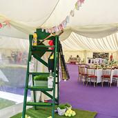 Tents & Marquees Shrewsbury Shropshire Tenis Theme