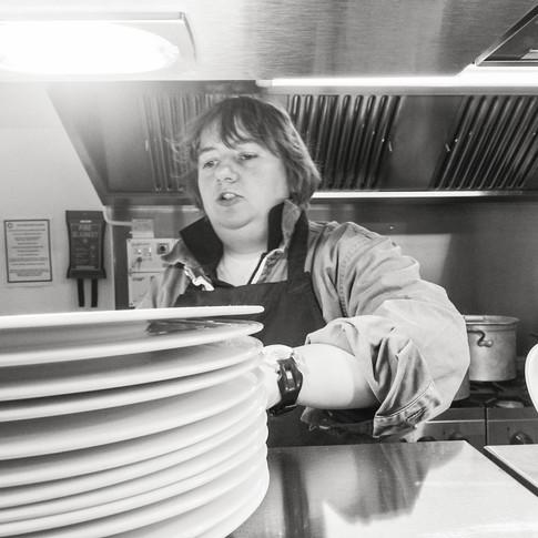 Nicola - Head Chef at Roslin Catering
