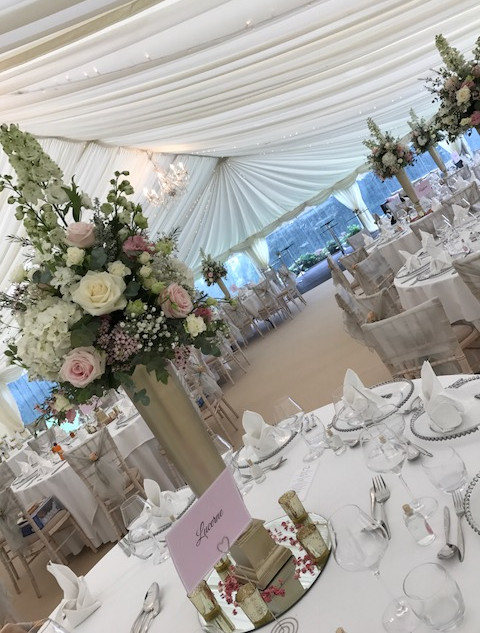 Traditional Decoration Wedding Marquee from Tents & Marquees Shrewsbury Shropshire
